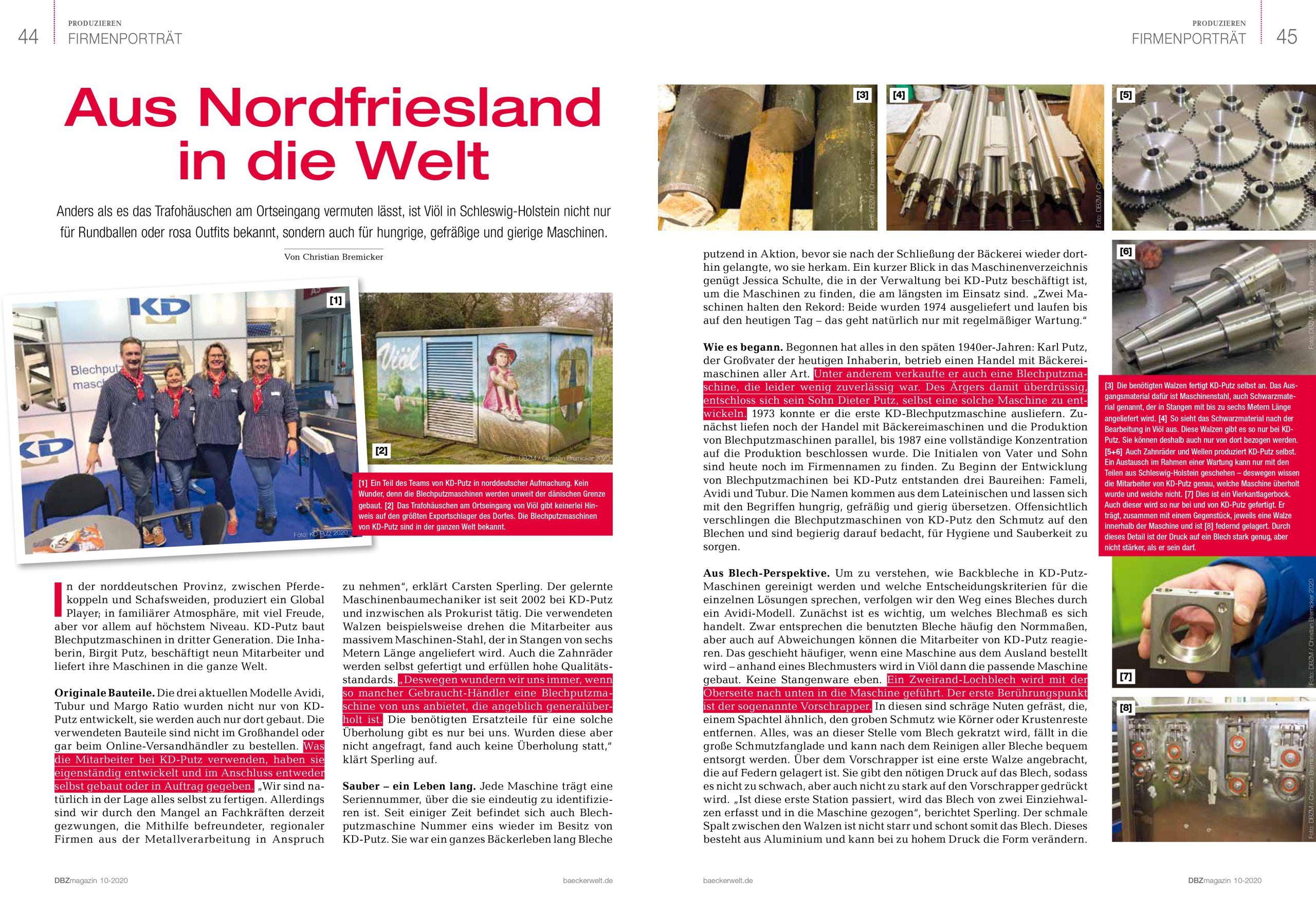 Aus Nordfriesland in die Welt