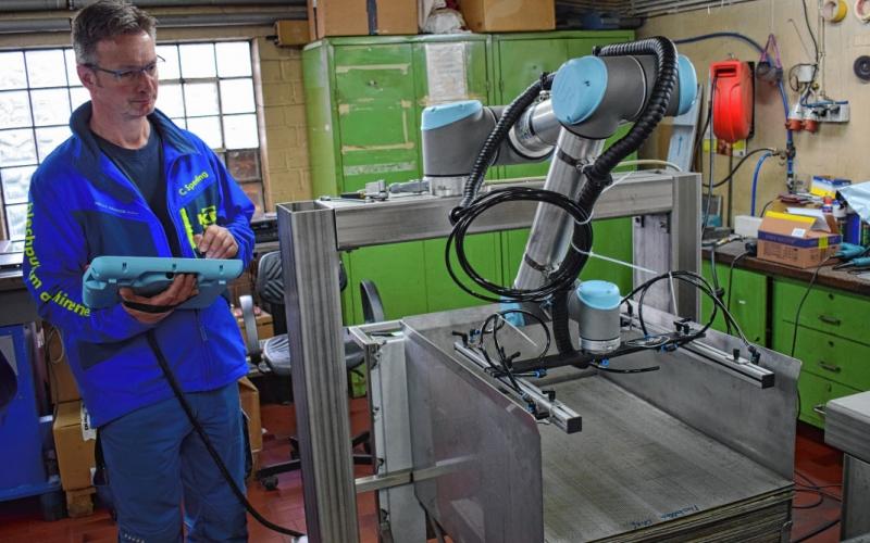 Neue Robotertechnik in Viöl